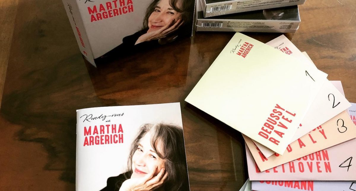 Martha Argerich Festival 1st Edition will be realised by AvantiClassic. It is an honor to be part of it